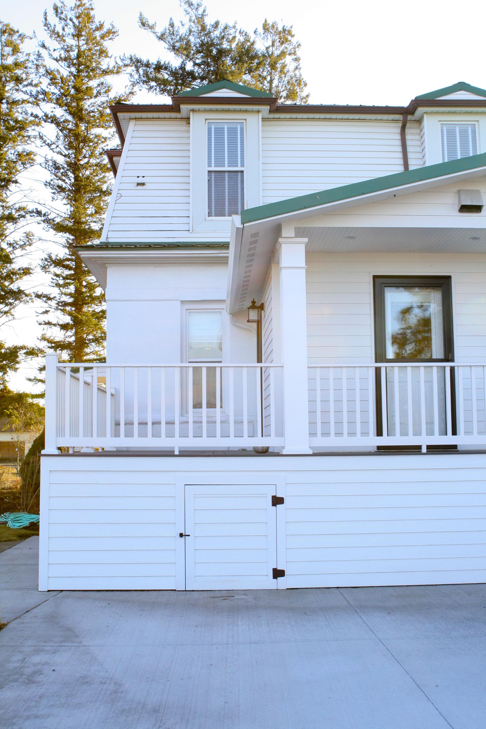 back deck addition